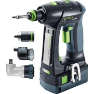 Perceuse-visseuse - FESTOOL C18 Set 574739 - 18 V Li-ion - 5,2 Ah