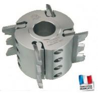 Porte-outils - ELBE PO041025 - couteaux crantés - Ø 137x60x50 mm