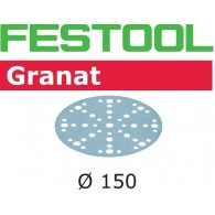 Disque abrasif - FESTOOL 575163 - Ø 150 mm - grain 100 - Bte 100