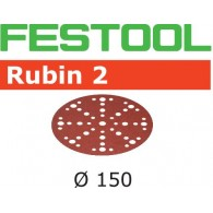 Disque abrasif - FESTOOL 575186 - Ø 150 mm - grain 40 - Bte 50