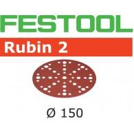 Disque abrasif - FESTOOL 575189 - Ø 150 mm - grain 100 - Bte 50