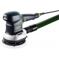 Ponceuse - FESTOOL ETS 150/5 EQ-plus 575056 - 310 W - Ø 150 mm + systainer