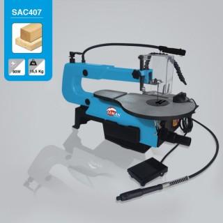 Scie à chantourner - LEMAN SAC407 - 90 W - 230 V - 400 mm