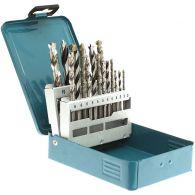 Coffret 18 forets perçage - MAKITA D-46202 - bois, métal, béton