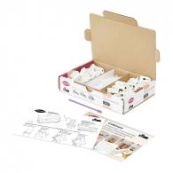 Kit de démarrage - LAMELLO CABINEO - 40 pièces 8 et 12, outil