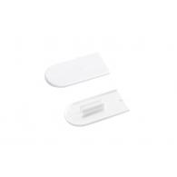 Capuchon Cabineo blanc - LAMELLO 186350S - RAL 9003 - 100 pièces