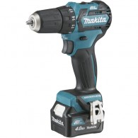 Perceuse-visseuse - MAKITA DF332DSMJ - 10,8 V Li-ion - 4 Ah