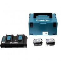 Pack batteries - MAKITA 197629-2 - 2 x BL1850B - 18 V Li-ion - 4,0 Ah
