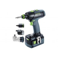 Perceuse-visseuse - FESTOOL T18+3 Set 575693 - 18 V Li-ion - 5,2 Ah