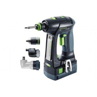 Perceuse-visseuse - FESTOOL C18 Set 575672 - 18 V Li-ion - 5,2 Ah