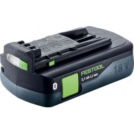 Batterie - FESTOOL 203799 - BP18 Li 3,1 CI - 18 V Li-ion - 3,1 Ah