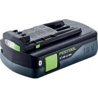 Batterie - FESTOOL 203799 - BP18 Li 3,1 CI - 18 V Li-ion - 3,1 Ah
