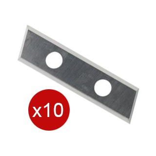 Plaquette carbure - ARUNDA 091431 - 33 x 9 x 1,5 mm - 10 pièces