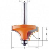 Mèche 1/4 de rond - CMT 93916711 - r 2 mm - Ø 16,7 x l 12,7 mm - Q8