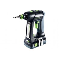 Perceuse-visseuse - FESTOOL C18 HPC 4,0 I-Set 575672 - 18 V Li-ion