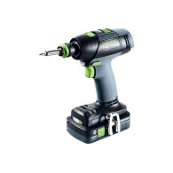 Perceuse-visseuse - FESTOOL T18+3 HPC 4,0 I-Plus 574756 - 18 V Li-ion
