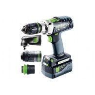 Perceuse-visseuse - FESTOOL PDC 18/4 Set/XL 576469 - 18 V Li-ion