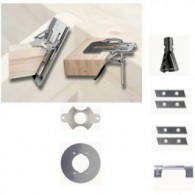 Gabarit complet - ARUNDA 50N Maxi - butées inclinables - la paire
