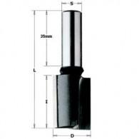 Mèche à défoncer - CMT 17508011 - Ø 8 x l 20 x L 65 mm - Q10