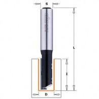 Mèche à rainurer à plaquette - CMT 65112011 - Ø 12 x I 30 x L 70 mm - Q8