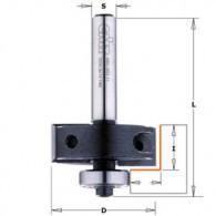 Fraise à feuillurer à plaquettes - CMT 66035011 - Ø 34,9 x I 12 x L 55 mm - Q8