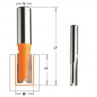 Mèche à défoncer - CMT 71108011 - Ø 8 x l 20 x L 48 mm - Q6