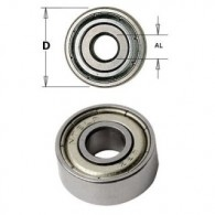 Roulement - CMT 79100700 - Ø 19 x al 6 x ép 6 mm