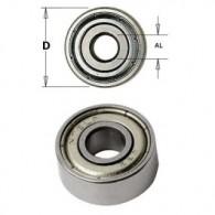 Roulement - CMT 79101100 - Ø 19 x al 12,7 x ép 4 mm