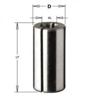 Douille de réduction - CMT 79906400 - Ø 8 x al 6,35 x L 25 mm