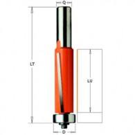 Mèche à affleurer - CMT 90619111 - Ø 19 x l 25,4 x L 73,9 mm - Q8