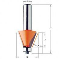 Mèche à chanfrein - CMT 90926011 - 30° - Ø 27 x I 9 x L 55 mm - Q8
