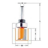 Mèche à défoncer - CMT 91122011B Ø 22 x I 20 x L 57 mm - Q8 - roulement