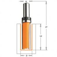 Mèche à défoncer - CMT 91216011B - Ø 16 x l 31,7 x L66 mm - Q8 - roulement