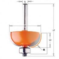 Mèche congé - CMT 93725411 - r 8 mm - Ø 28,7 x l 12,7 x L 54,2 mm - Q8