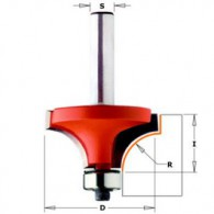 Mèche 1/4 de rond - CMT 93825411 - r 6,4 mm - Ø 25,4 x I 12,7 mm - Q8