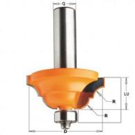 Fraise à moulure - CMT 94138011 - r 6,4 mm - Ø 42 x l 18,5 mm - Q8