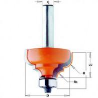 Fraise à moulure - CMT 94435011 - r 6,4-4,8 mm - Ø 35 x l 18,5 mm - Q8