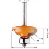 Fraise à moulure - CMT 94632511 - r 4,8-3,6 mm - Ø 34,2 x l 13 mm - Q8