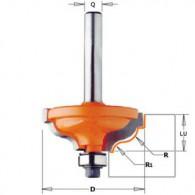 Fraise à moulure - CMT 94732511 - r 4,8-3,6 mm - Ø 34,2 x l 13 mm - Q8