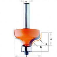 Mèche doucine - CMT 95904011 - r 4 mm - Ø 28,7 x l 13 mm - Q8
