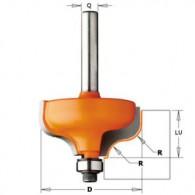 Mèche doucine - CMT 96004011 - r 4 mm - Ø 28,7 x l 13 mm - Q8