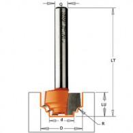 Fraise à moulure - CMT 96510111 - r 1,2 mm - Ø 12,7 x l 12,7 mm - Q8