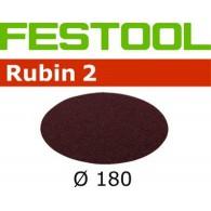 Disque abrasif - FESTOOL 485241 - Ø 180 mm - grain 50 - 25 pièces