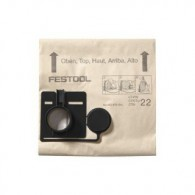 Sac filtre - FESTOOL 494632 - pour CT33 - 20 pièces