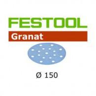 Disque abrasif - FESTOOL 496977 - Ø 150 mm - grain 80 - Bte 50