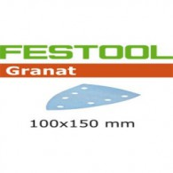 Abrasif - FESTOOL 497136 - delta 100x150 mm - grain 60 - Bte 50