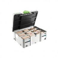 Assortiment de dominos - FESTOOL 498204 - XL 8 et 10 - 306 pièces