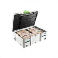 Assortiment de dominos - FESTOOL 498205 - XL 12 et 14 - 128 pièces