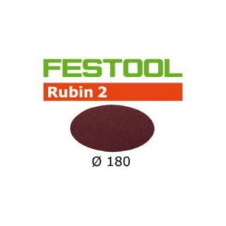 Disque abrasif - FESTOOL 499128 - Ø 180 mm - grain 100 - Bte 50
