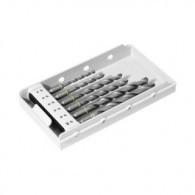 Coffret 6 forets - FESTOOL 769096 - Ø 4 à 10mm - pour matériaux